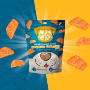 Salmon Supreme dog treat, all-natural dog treats, all-natural pet treats